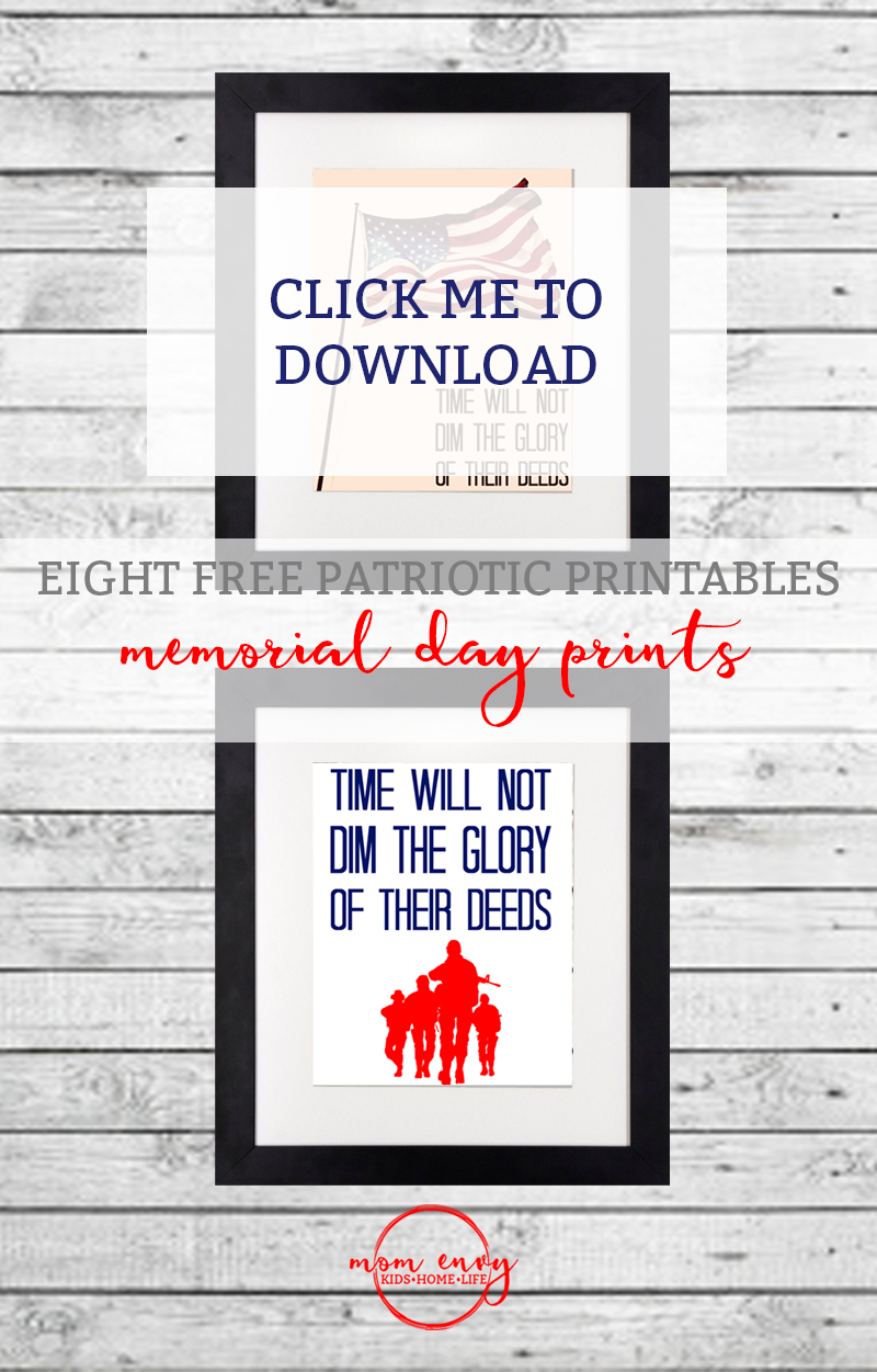 free patriotic printables memorial day prints mom envy