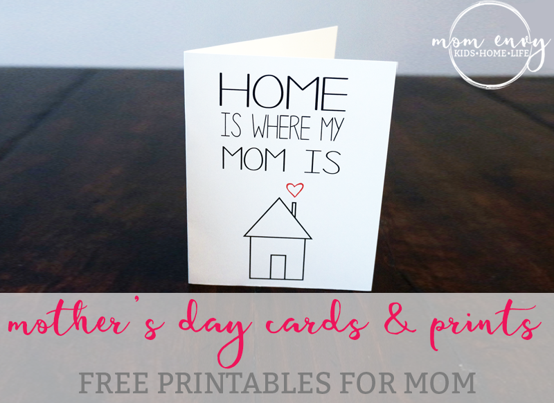 free mothers day printables mom envy