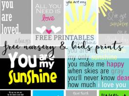 free nursery prints kids prints mom envy