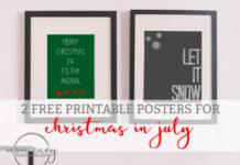 mom envy free christmas prints christmas in july printables