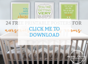 mom envy nursery kids room prints