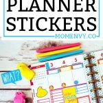FREE Peeps planner stickers. Download a set of FREE Peeps planner stickers that are perfect for Spring. Hand drawn peep characters. #happyplanner #erincondren #planneraddict #plannerstickers