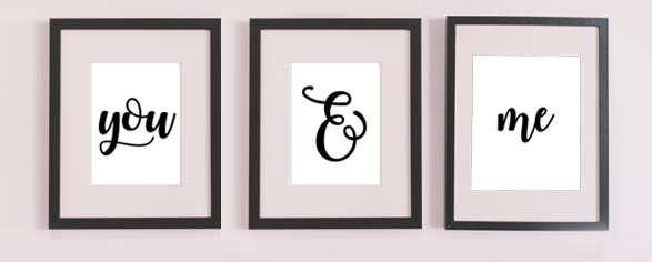 Pottery Barn Inspired Prints You and Me Free Prints Mom Envy main pic