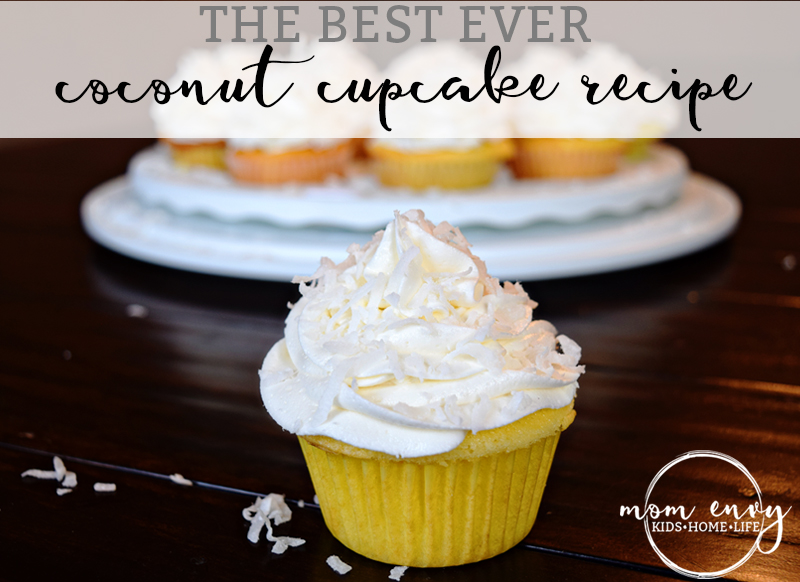 coconut cupcake recipe mom envy cover