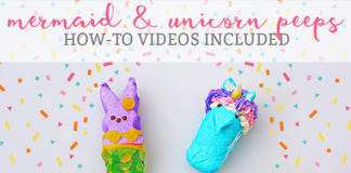 mermaid and unicorn peeps mom envy