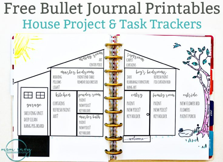 House Project Planner Printable