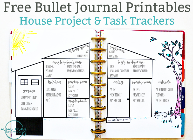 graphic about Printable Journals titled Bullet Magazine Encouraged Cost-free Printables - Obtainable within just