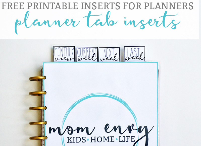 graphic relating to Printable Tabs titled No cost Dividers for Planners - Free of charge Tab Dividers towards Maintain Your