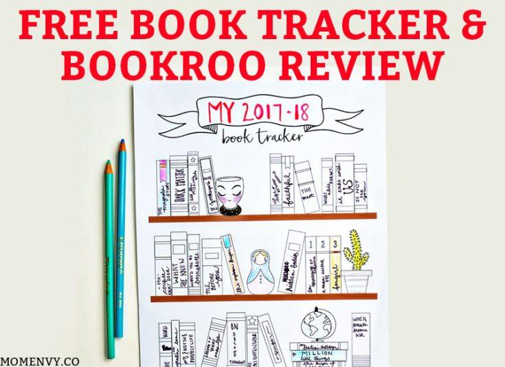 Free Book Tracker Planner Printable