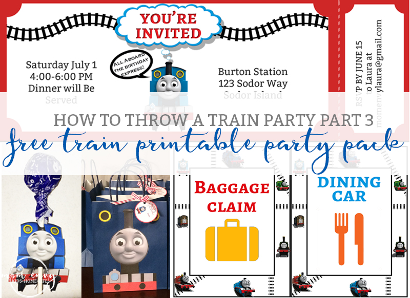 graphic relating to Free Printable Thomas the Train Cup Cake Toppers identified as Absolutely free Educate Celebration Printables - Absolutely free Thomas the Tank Motor
