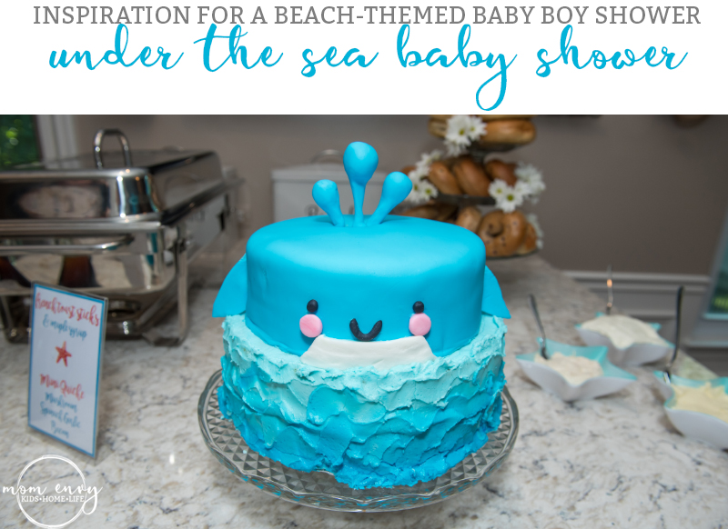 Under the Sea Baby Shower , A Beach Inspired Shower