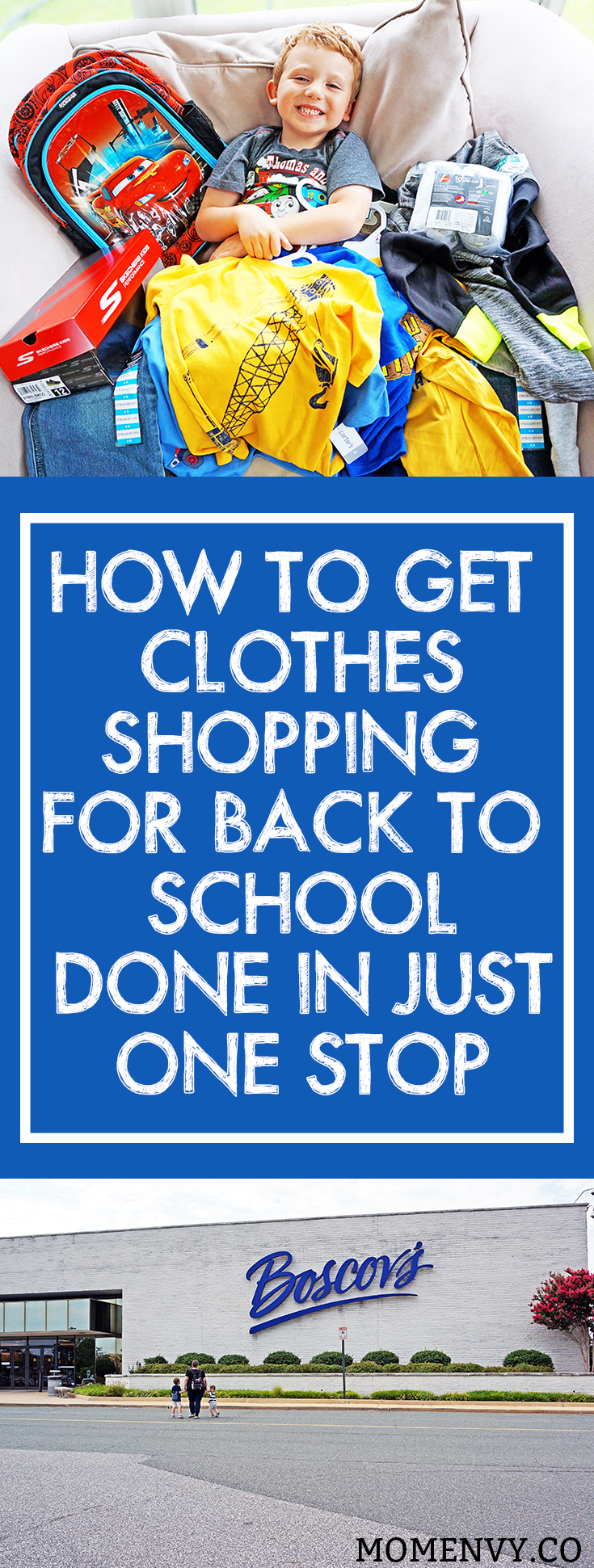 Boscov's Back to School Shopping. Get all of your back to school clothing and accessory needs in one store. Find quality yet inexpensive clothing that fits your family's busy lifestyle. Preschool Back to School.