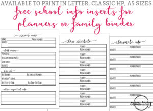 photograph relating to Free Printable Organizing Sheets named Property Business enterprise Printables - No cost Printable House