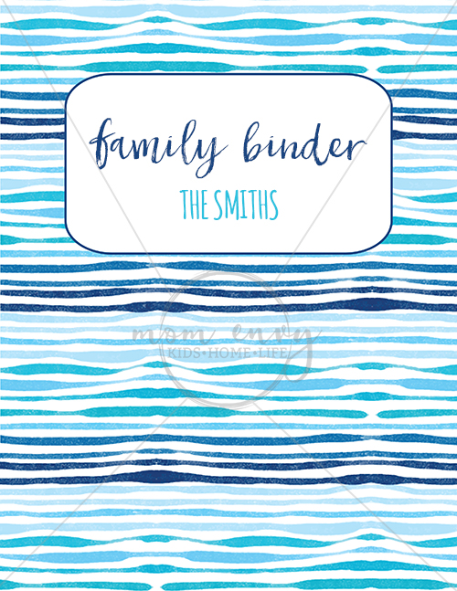 Family Binder Covers Free Planner Covers Family Binder