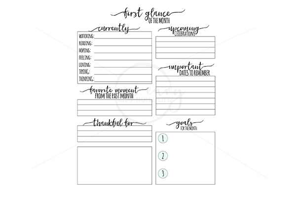 Free Monthly Planner Printables - Different Designs for Each Month. Free Happy Planner Inserts. Free Erin Condren Inserts. Free planner printables. Free planner inserts. Free family binder. From https://momenvy.co