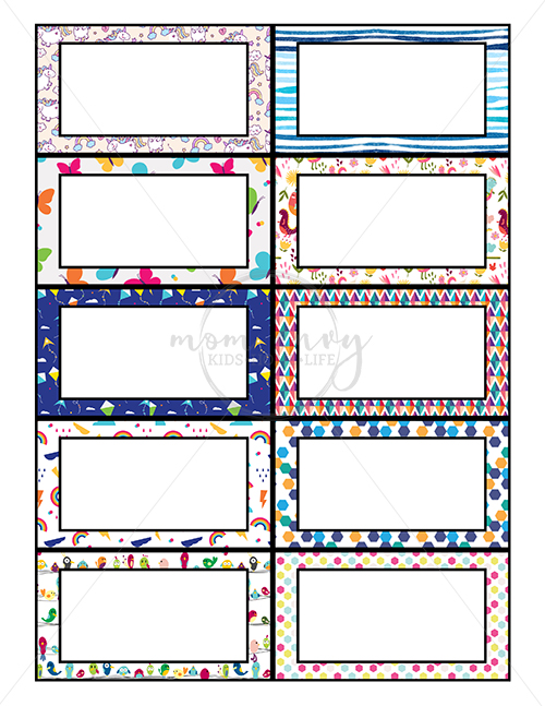 Free Lunchbox Notes - 40 Free Printable Lunch Note cards. Bring a little magic to your child's lunches this year with a surprise lunchbox note. Have no time? No worries - there are 30 predesigned cards and 10 blank cards. 10 of the cards are for your littlest school-goers. From https://momenvy.co/2017/08/free-lunchbox-notes.html