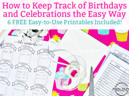 Birthday tracker and celebration trackers. Free birthday and celebration printables to keep track all year long. Learn how to keep track of birthdays and celebrations the easy way. Free Happy Planner Printables. Free bullet journal printables. Free bullet journal birthday tracker. https://momenvy.co/2017/09/birthday-tracker.html