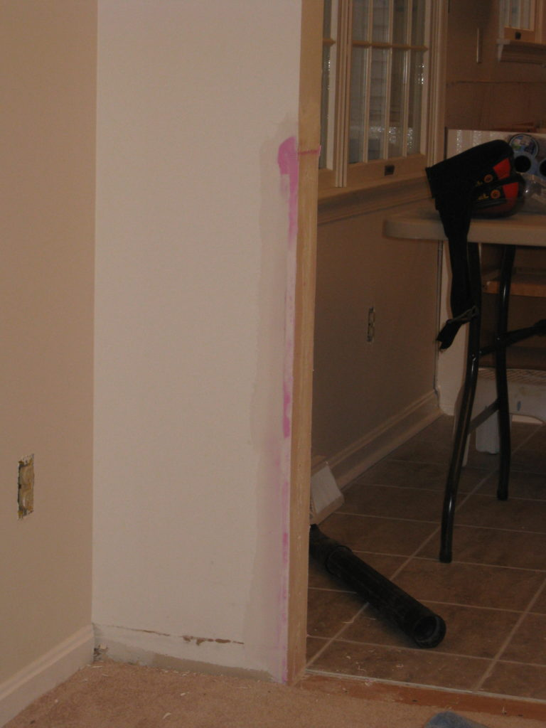 Kitchen Remodel. See how this 1980's kitchen gets some traditional farmhouse kitchen style in this kitchen remodel. See how paint transforms the kitchen cabiets and takes this kitchen from 80's oak to amazing.