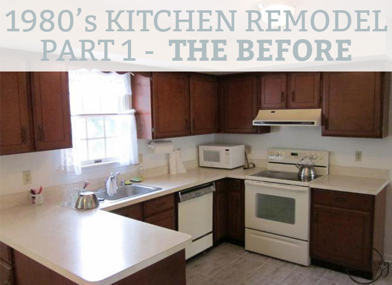 Kitchen Remodel Part 1 The 1980 S Before And The Remodeling Plan