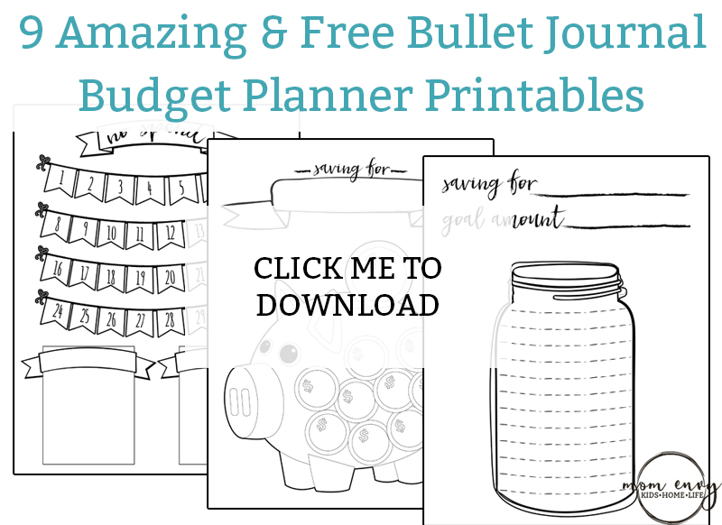 picture about Savings Jar Printable named Printable Spending plan Planner - 9 Spending plan Printables for Totally free