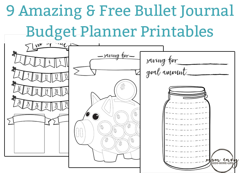 photograph regarding Free Budget Planner Printables named Printable Price range Planner - 9 Spending budget Printables for Cost-free