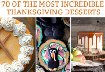 70 Incredible Thanksgiving Dessert Recipes. The best of the best bloggers dessert recipes perfect for fall. #thanksgiving #thanksgivingrecipes #pumpkinpie #fallrecipes #dessertrecipes