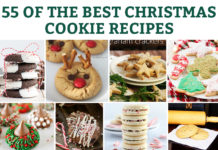 55 of the Best Christmas Cookie recipes. Find a new family favorite. Unique Christmas cookie recipes, traditional Christmas cookie recipes, and more. #christmas #christmascookies #christmascookierecipes #christmasrecipes