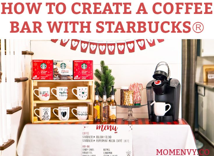 How to Create a Coffee Bar with Starbucks®
