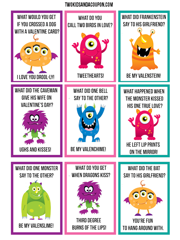 photo regarding Valentines Free Printable named 50 No cost Printable Valentines - Exclusive Valentine Programs for Small children