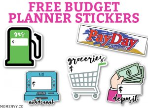 photo relating to Free Happy Planner Budget Printables called Printable Price range Planner - 9 Spending plan Printables for Absolutely free