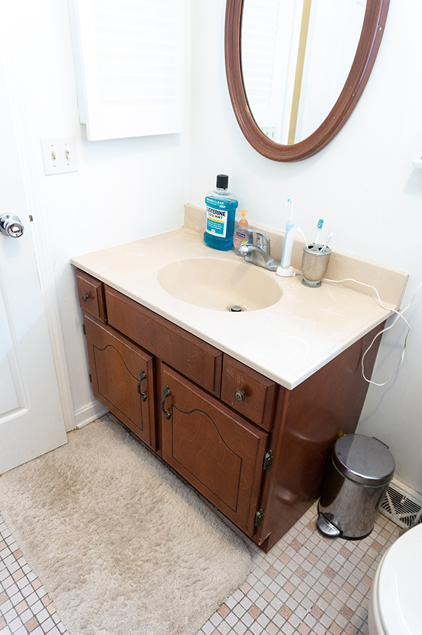 Bathroom Remodel Reveal: DIY Bathroom Remodel Reveal