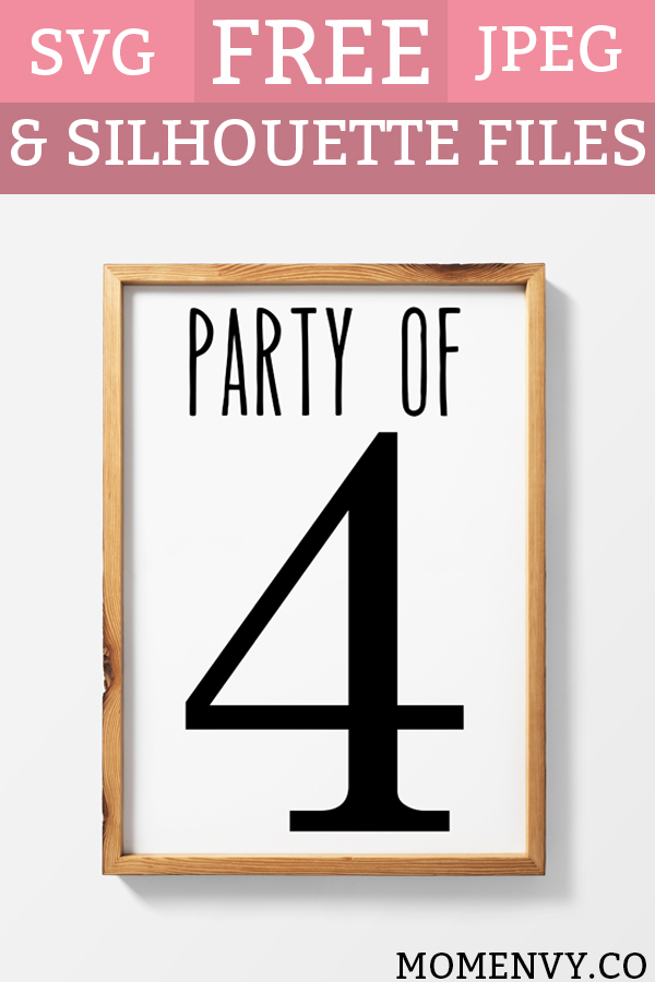 Farmhouse Printables Party of Four and More Printables