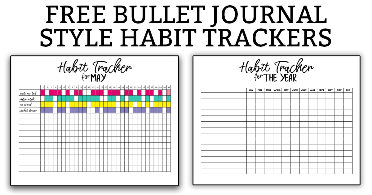 graphic relating to Bullet Journal Habit Tracker Printable referred to as Routine Tracker Bullet Magazine - No cost Printable Bullet Magazine