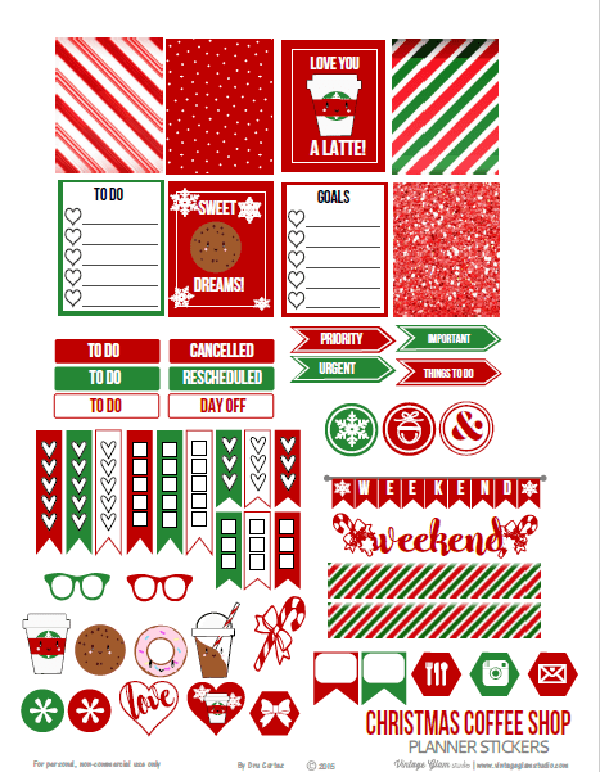 photograph about Christmas Planner Printable named Cost-free-Xmas-Planner-Printables-001 - Mother Envy