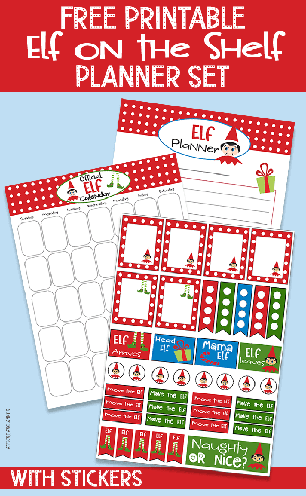 graphic regarding Free Printable Christmas Stickers known as Cost-free Xmas Planner Printables