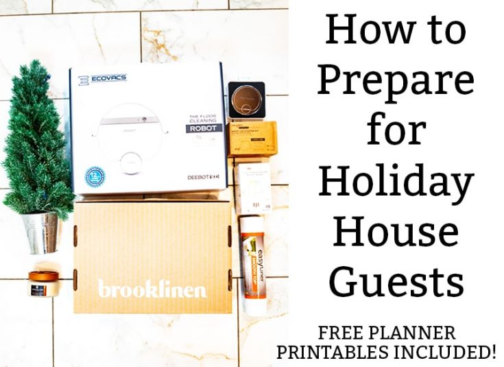 House Guest Planner Printables