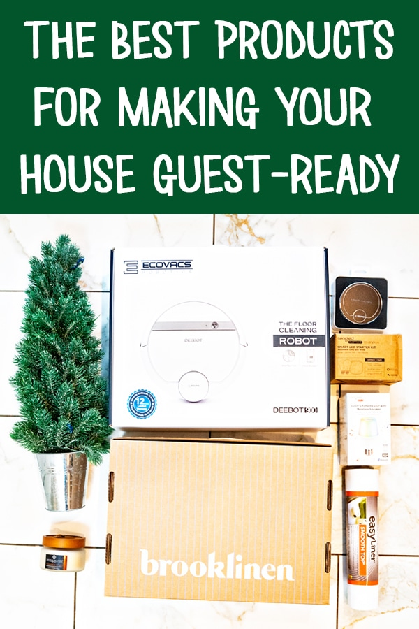 Get some tips for how to be a good host for house guests. I'll show you tips and tricks to make your guests feel at home for the holidays. #ad #holidayentertaining #entertaining #christmas #HomeHolidayBboxx