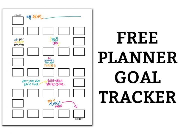 Bullet Journal Tracker - Free Planner Printable