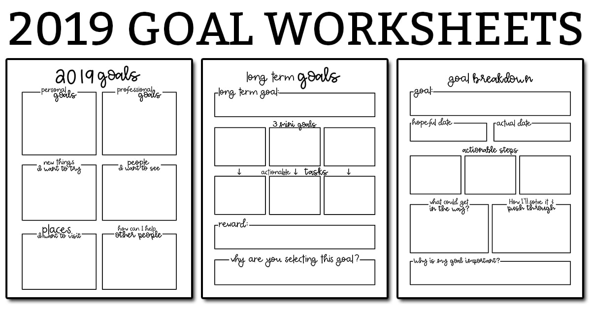 image regarding Free Printable Goal Sheets titled Function Natural environment Worksheets - 3 Cost-free Purpose Planner Printables