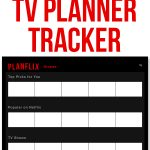 Netflix Bullet Journal. Download this free movie and TV tracker. It's the perfect planner printable to track the movies and TV you want to see or have seen. #bulletjournal #bujo #netflix