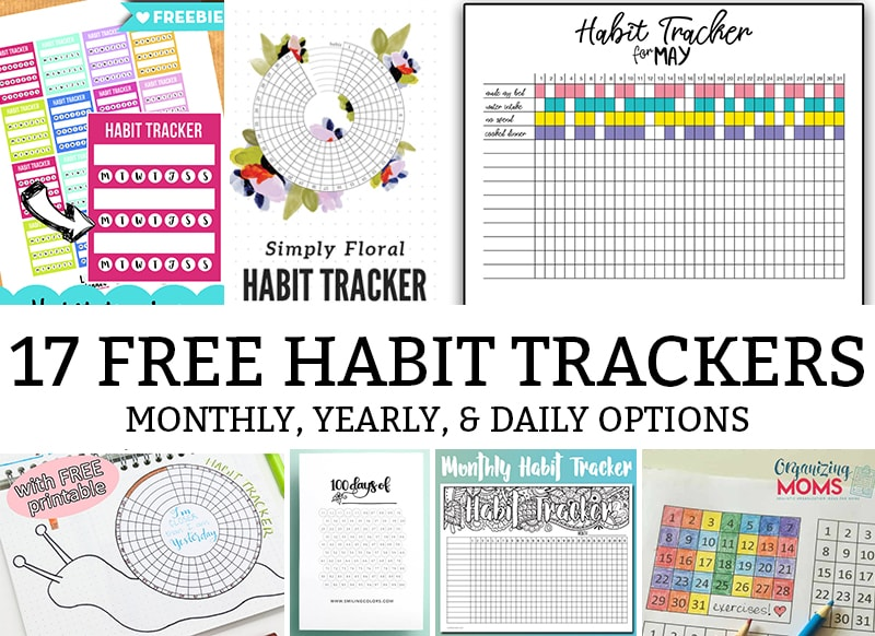 image about Daily Habit Tracker Printable referred to as 17 of the Ideal Behavior Tracker Printable Inserts
