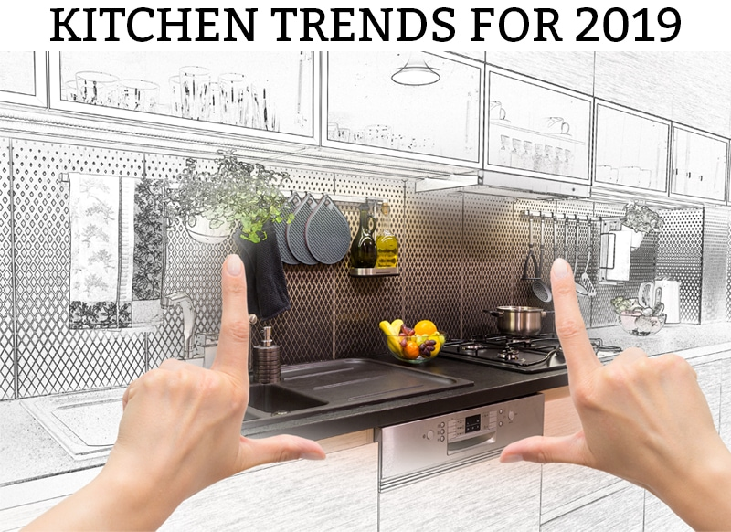 Kitchen Trends 2019. Check out all of the best kitchen trends for 2019. Learn what's in style and what's out. #kitchen #kitchendesign #kitchens2019