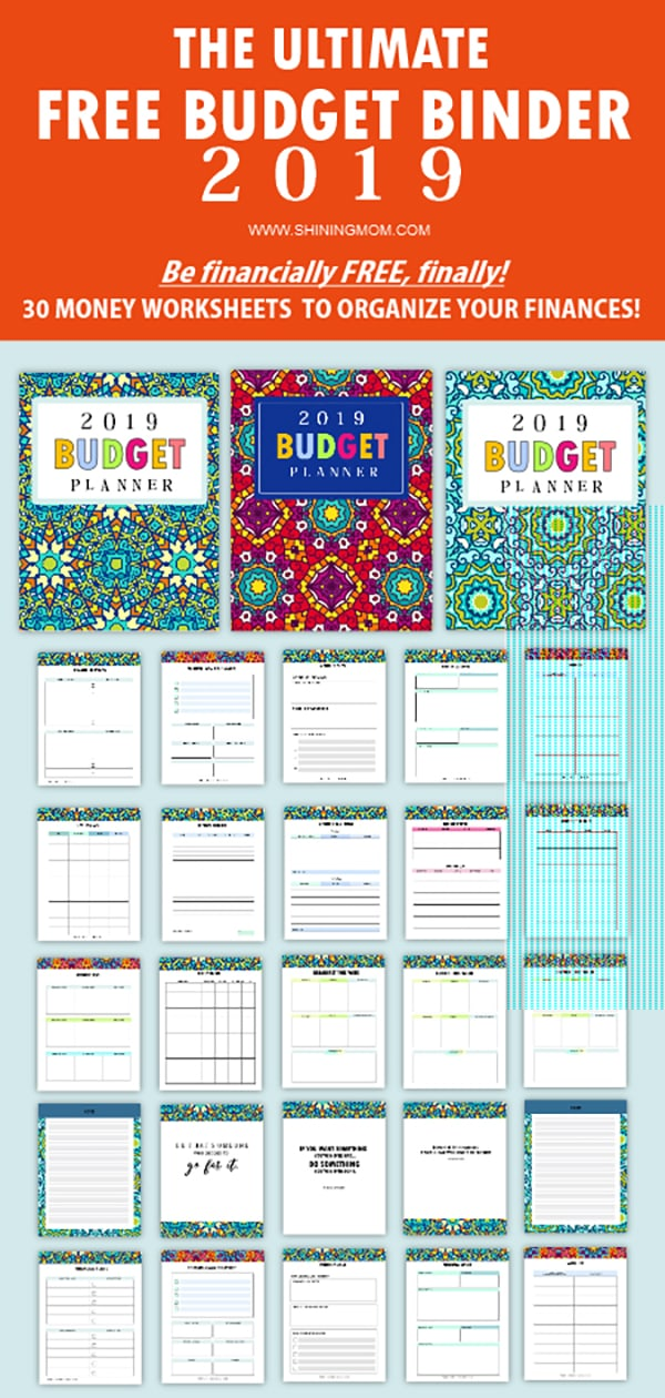 It's just an image of Free Printable Budget Binder Worksheets pertaining to paycheck workbook free