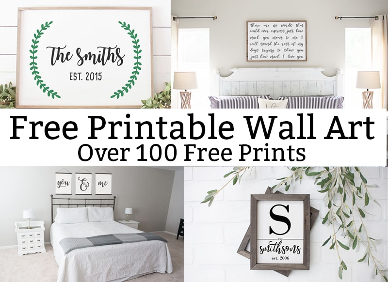graphic regarding Free Printable Wall Art named Cost-free Printable Wall Artwork - More than 100 Cost-free Prints Offered in direction of