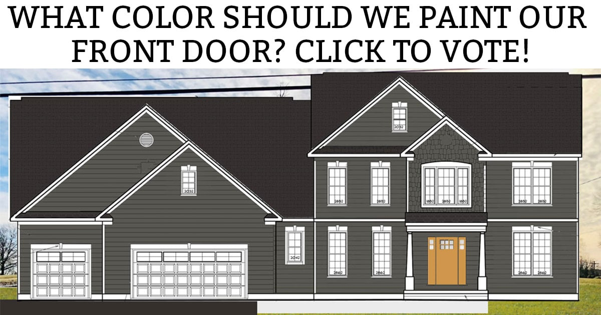 Front Door Colors For A Gray House