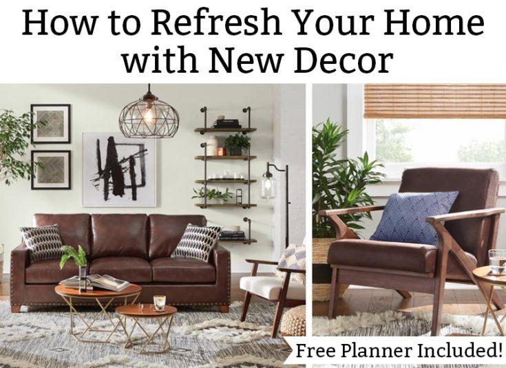 Home Decor Redesign Planner Set