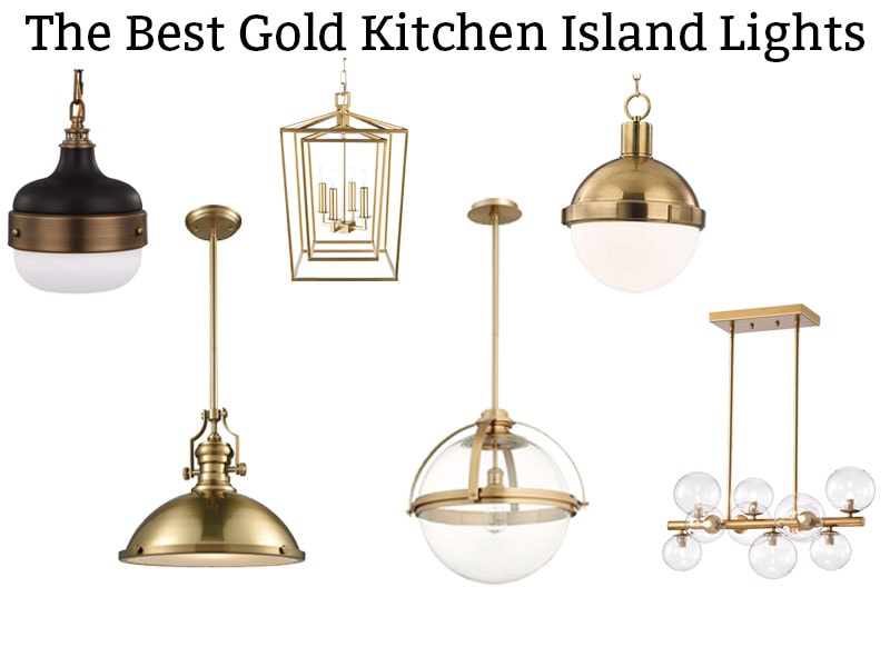 The Best Gold Kitchen Island Lights Brass Is Back In The