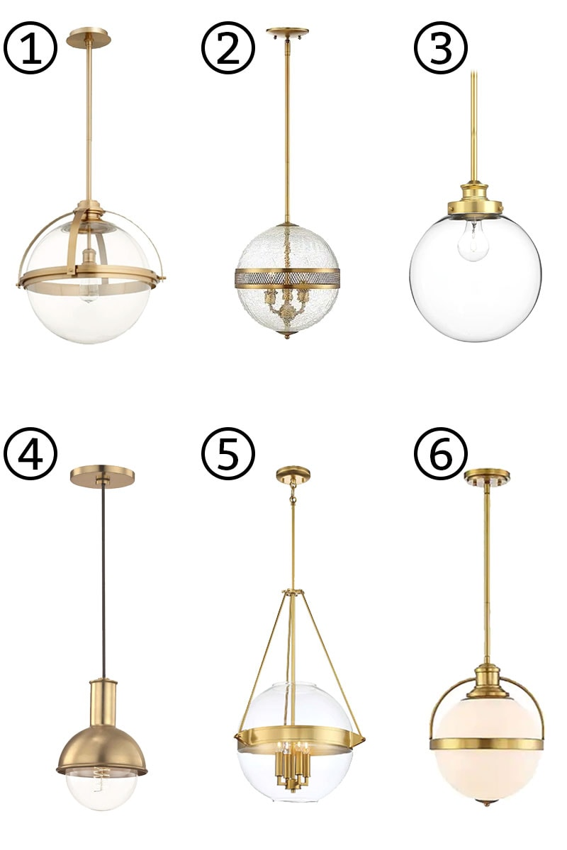 The Best Gold Kitchen Island Lights Brass Is Back In The Kitchen
