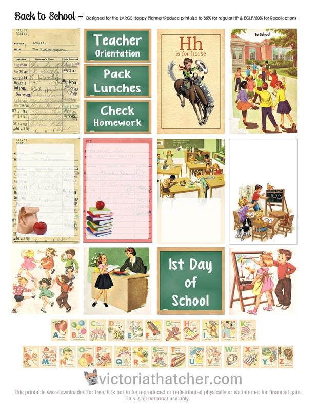 Back to School Planner Printable