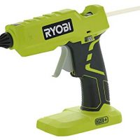 Ryobi P305 One+ 18V Lithium Ion Cordless Hot Glue Gun w/ 3 Multipurpose Glue Sticks (Battery Not Included/Power Tool Only)